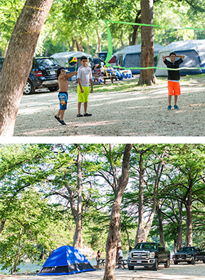 New Braunfels Camping >> Camp Huaco Springs